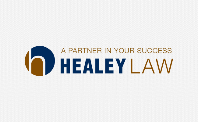 logo file for Healey Law
