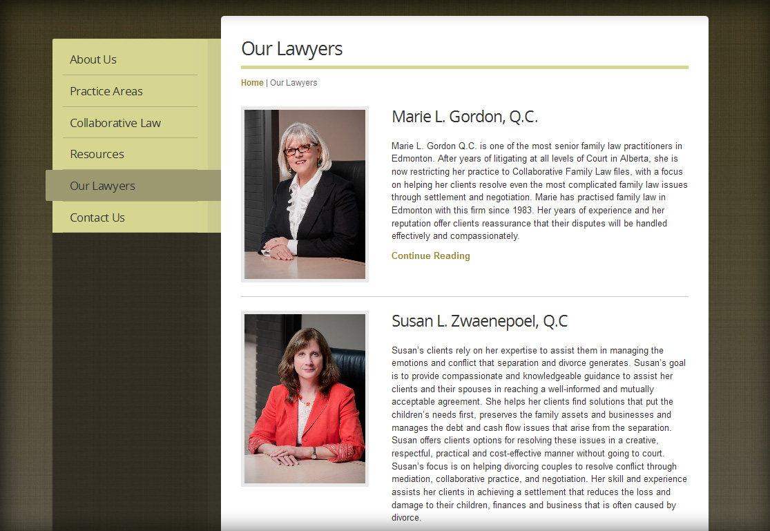 collaborative law websites