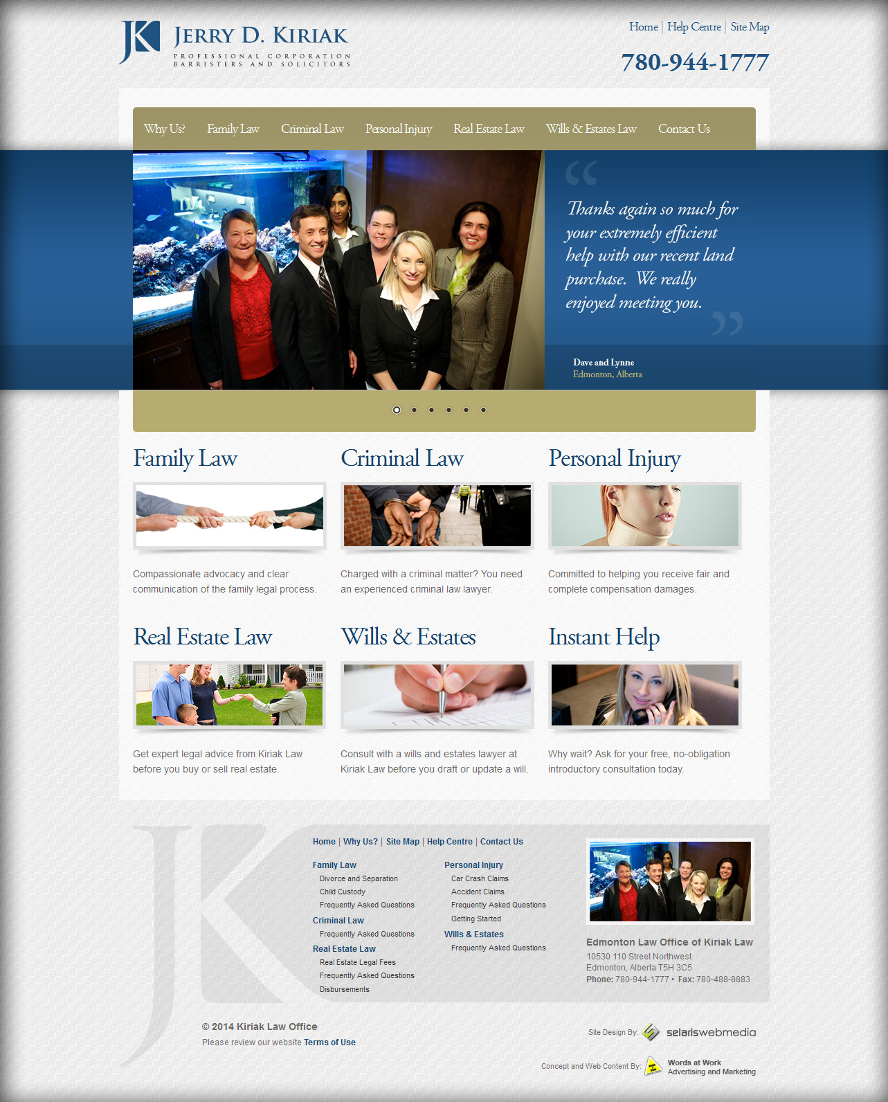 attorney website design edmonton